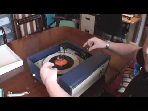Fidelity HF35 Record Player Restoration