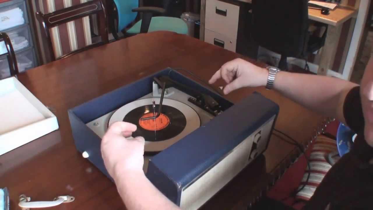 Fidelity Hf35 Record Player Restoration Youtube