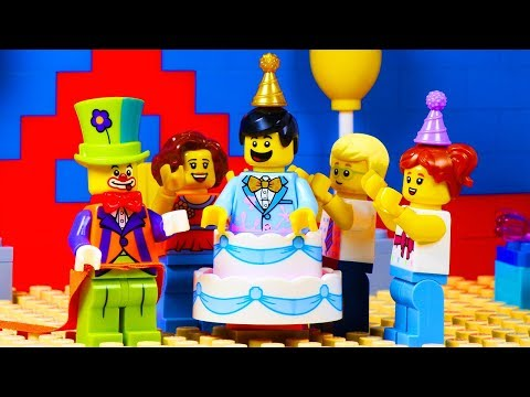 Lego Party Clown Surprise Birthday Party