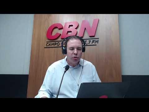 CBN Campo Grande (18/05/2020): com Ginez Cesar