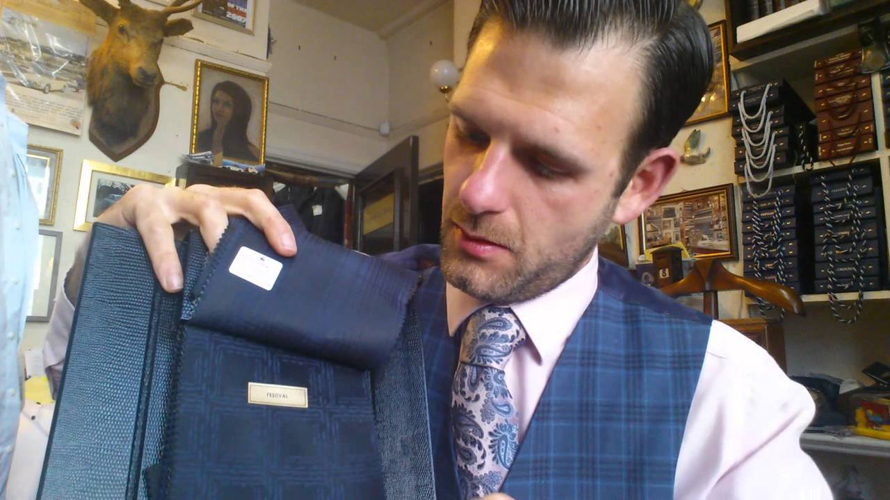 a706c5176ab Scabal Festival Evening Suit Fabrics Tailoring TV with Michael Pendlebury  Manchester Bespoke Tailor - YouTube