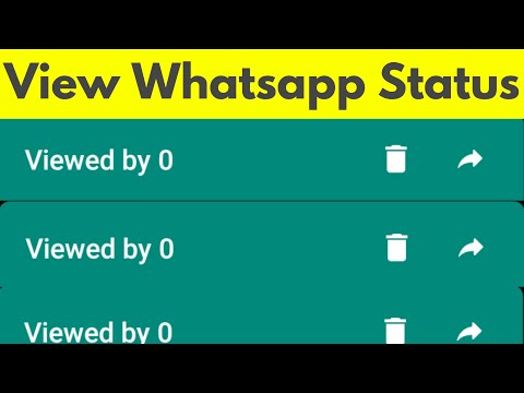 How To View Whatsapp Status Without Letting Them Know See Someones Whatsapp Story 2020