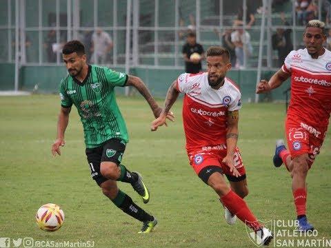 Fecha 23: resumen de San Martín de San Juan - Argentinos Juniors