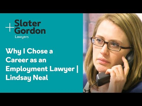 Why I Chose a Career as an Employment Lawyer | Lindsay Neal