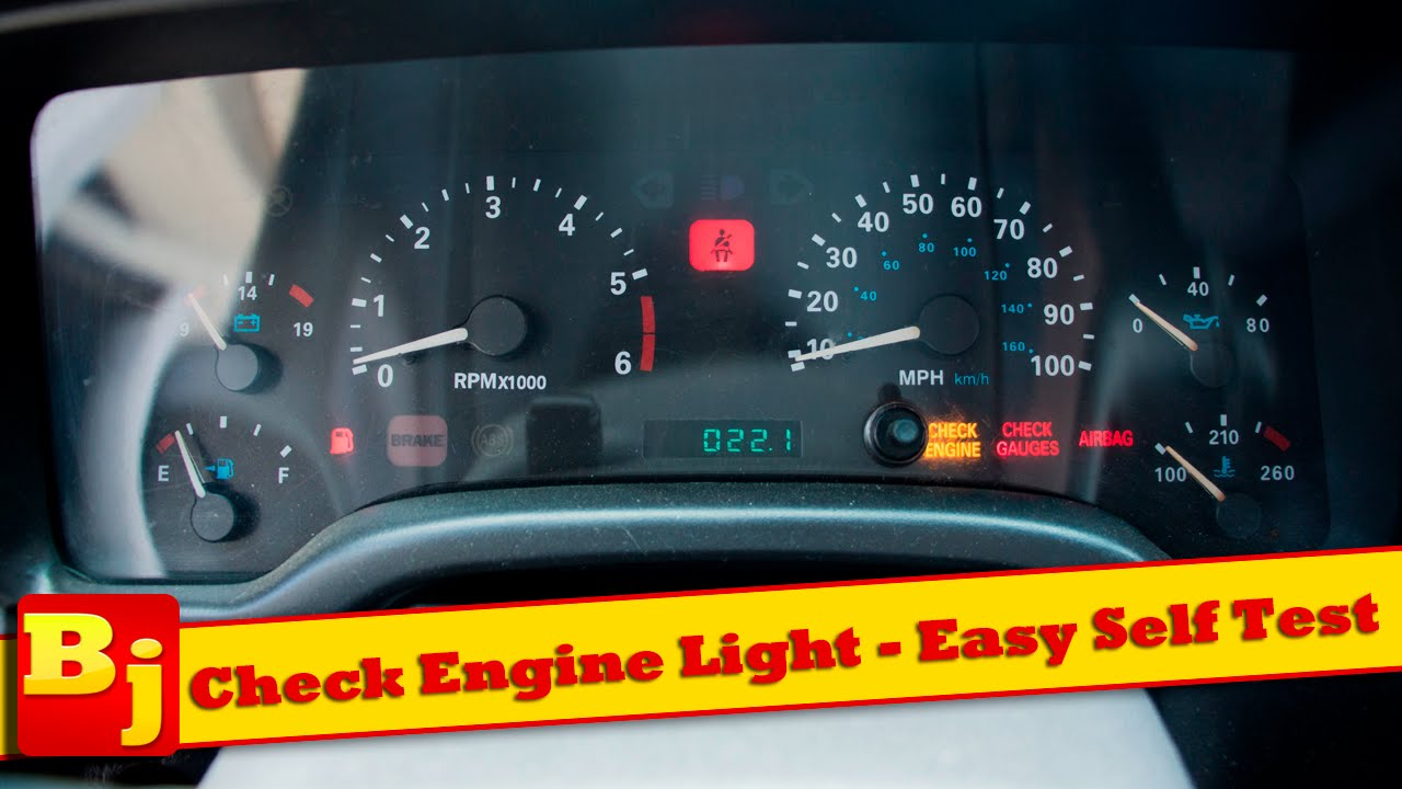 check engine light - easy self diagnosis - youtube
