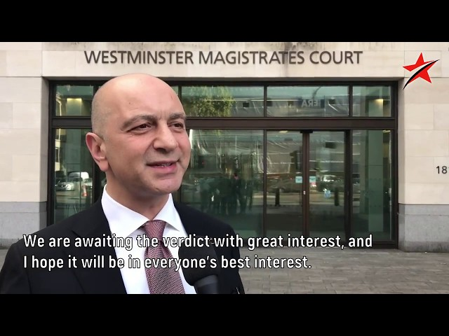 AKIN IPEK, WESTMINSTER COURT, LONDON (with English Subtitle)
