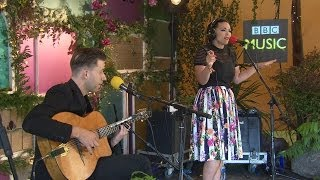 Caro Emerald performs Liquid Lunch in the BBC Music Tepee at Glastonbury 2014