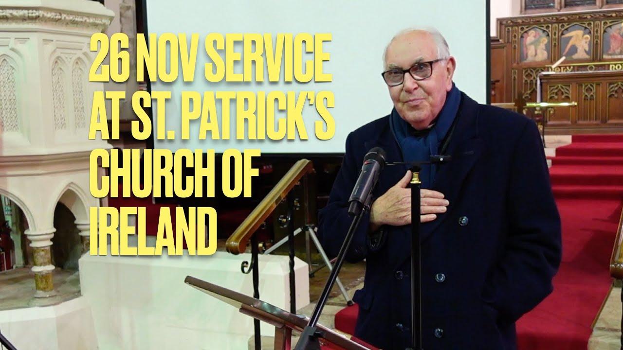 26 November Service with Bro David