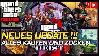 NEUES UPDATE CASINO HEIST zocken und ALLES KAUFEN ! :D | Gta 5 Online | IRabbix