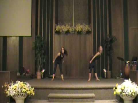 Givens girls dance Easter 2009
