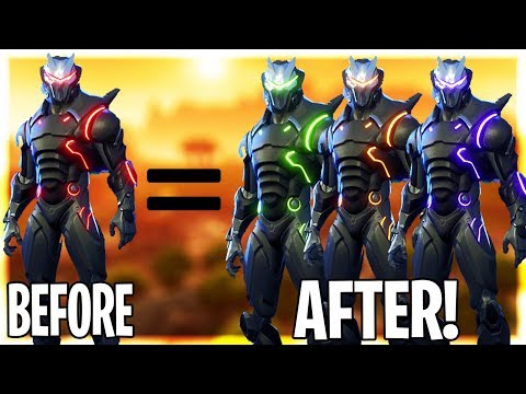 HOW TO CHANGE THE COLOR OF YOUR OMEGA AND CARBIDE SKIN!