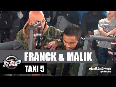 Franck Gastambide et Malik Bentalha parlent de Taxi 5 #PlanèteRap