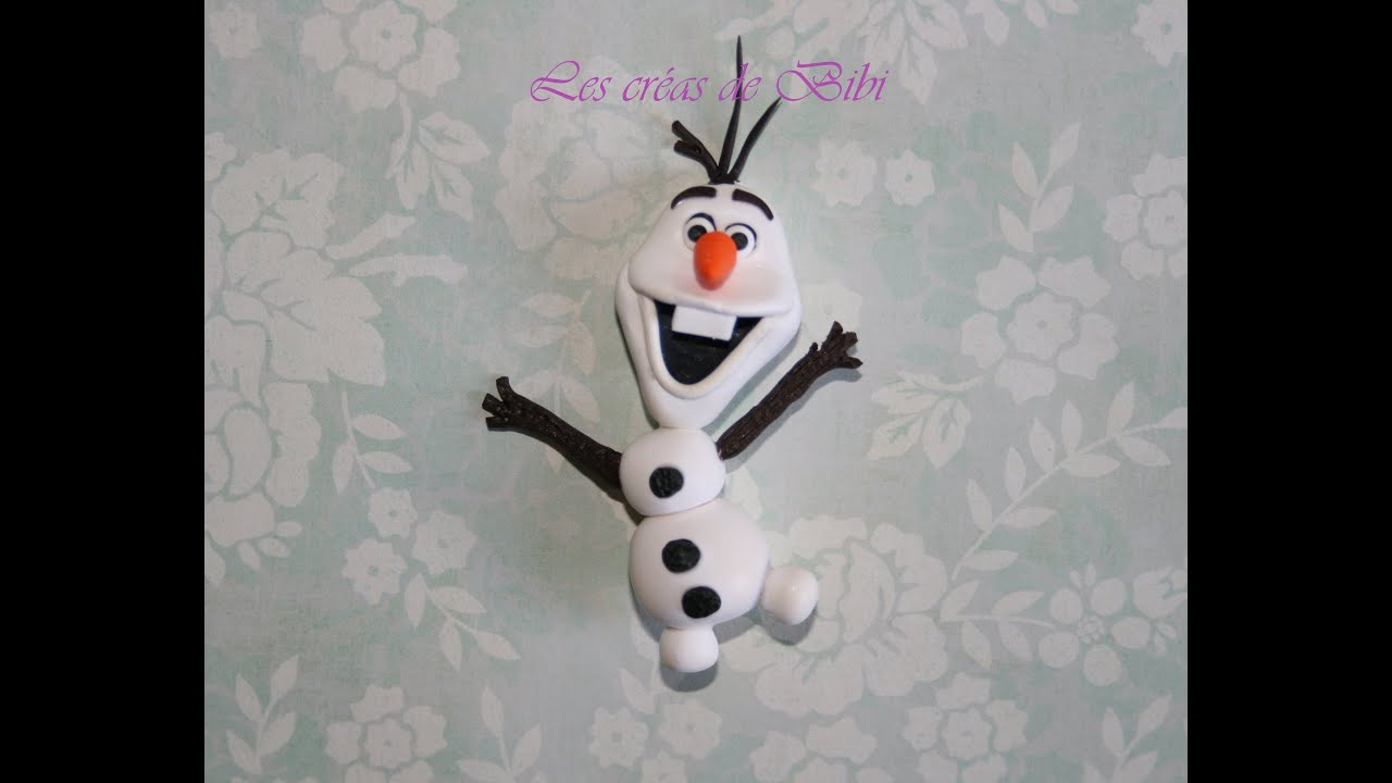 Tuto olaf en fimo la reine des neiges frozen youtube - Reine des neiges olaf ...