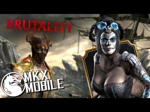 СДЕЛАЛ БРУТАЛИТИ В ИСПЫТАНИЕ ДЕНЬ МЕРТВЫХ КИТАНА  • Mortal Kombat X Mobile