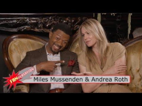 Miles MussendenOtis & Andrea Roth Melissa  Marvel's Cloak & Dagger   VERSATION
