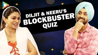 CRAZY FUN: Diljit Dosanjh & Neeru Bajwa's MOST ENTERTAINING Quiz Ever | Shadaa