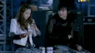 Download Sandara Park - Kiss (Cass CM with Lee MinHo) (SUB-PT).avi MP3 song and Music Video