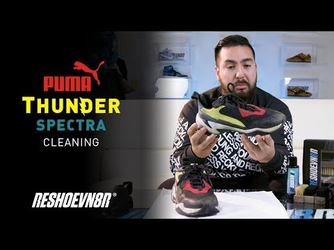 How to clean the Puma Thunder Spectra with Reshoevn8r