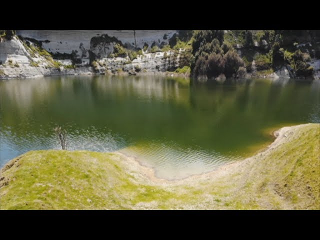Check out the accidental lake that's formed near Gisborne