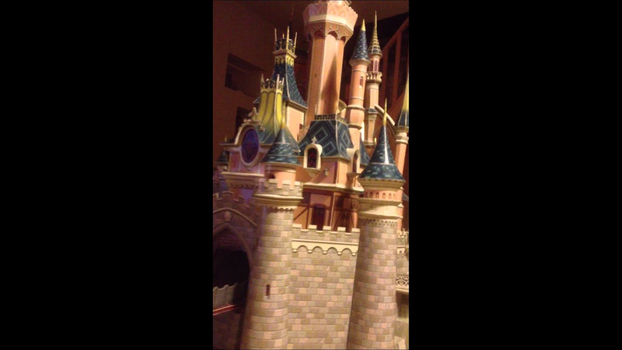 ch teau disneyland paris papier youtube. Black Bedroom Furniture Sets. Home Design Ideas