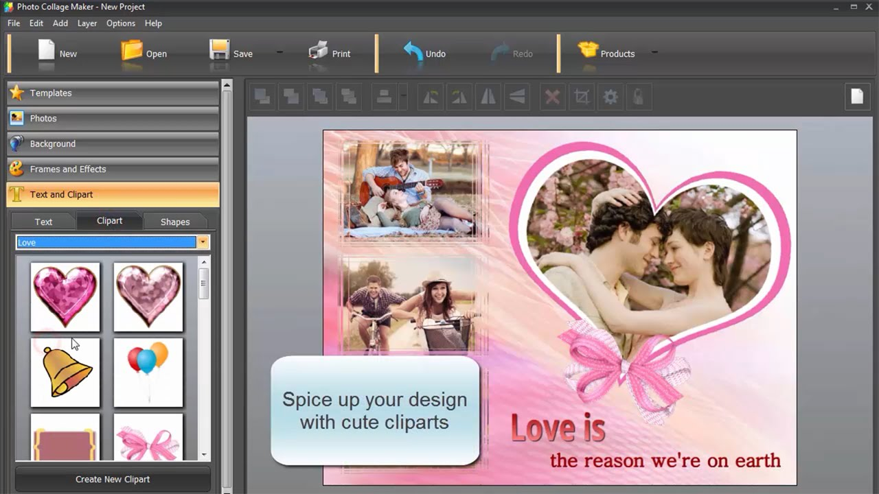 i love you photo collage useful tips for a romantic design youtube