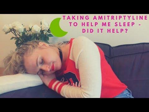 Taking Amitriptyline to help me sleep   HOPE