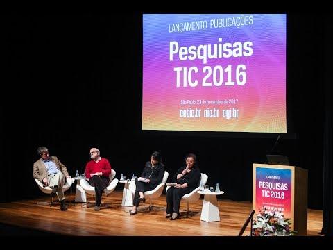 Lançamento Publicações TIC 2016 [áudio em Espanhol]