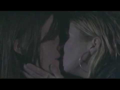 Michelle Ryan and brooke kinsella kiss on eastenders