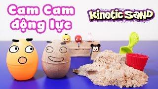 Kinetic Sand - Đồ chơi cát động lực, Cam Cam động lực - ToyStation 54