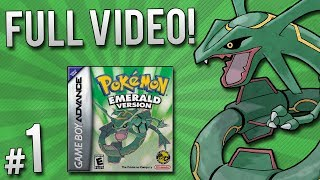 Pokemon Emerald Randomizer Nuzlocke - Full Video | PART 1
