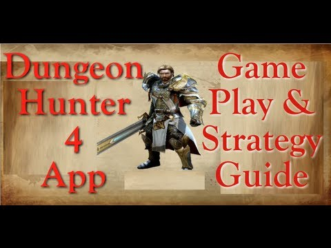 DH4 Gameplay & Combat Strategy Dungeon Hunter 4 IPad IPhone App Game