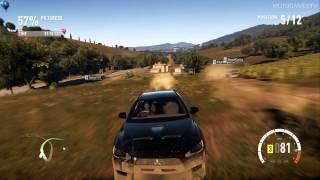 Forza Horizon 2 Demo - Mitsubishi Lancer Evolution X GSR Gameplay
