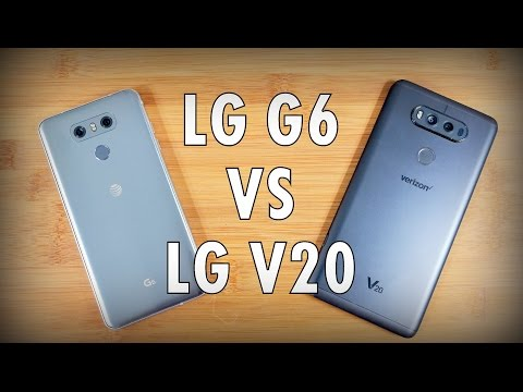 LG G6 vs LG V20! Is the G6 a V20 killer? Smartphone Showdown!