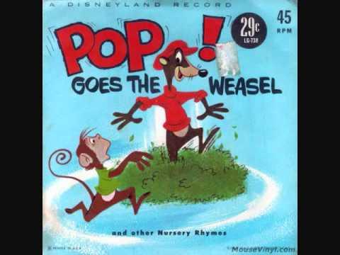 Disneyland Records - Pop Goes the Weasel