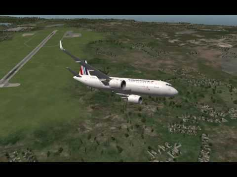 FULL FLIGHT:A320neo from Biarritz to Bordeaux