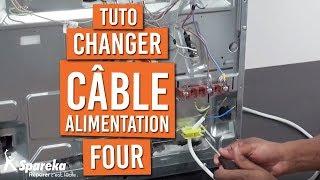Comment changer le câble d'alimentation d'un four ?