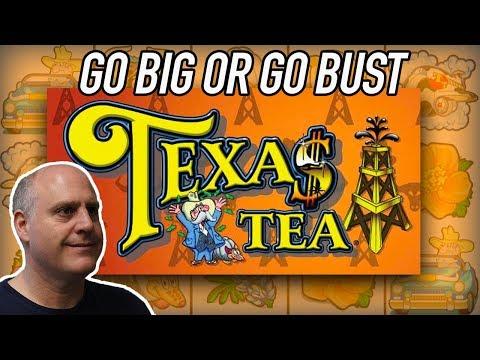 NEVER SEEN! 💥Go BIG or Go BUST 💥Texas Tea Slots   The Big Jackpot