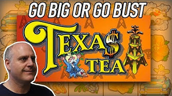 NEVER SEEN! 💥Go BIG or Go BUST 💥Texas Tea Slots | The Big Jackpot