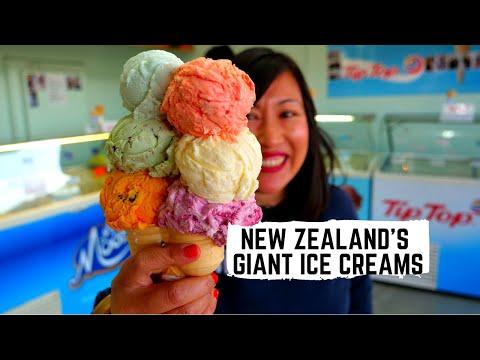 Biggest ICE CREAMS In New Zealand + Pokeno's Famous Bacon | Ultimate Kiwi Big Breakfast In Waikato