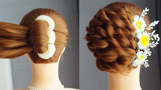 New Latest French Bun Hairstyle Hair Style Girl New Fashion French Roll Hairstyle Juda Style