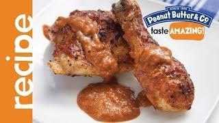 Peanut Butter Barbecue Chicken Recipe