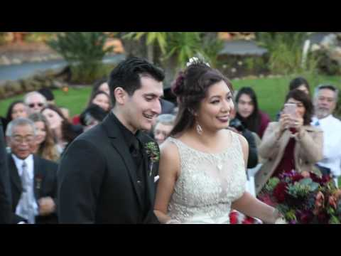 Brandon and Nicole's Wedding Day at Mt. Woodson Castle (Full Reel)