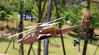 how To Make Helicopter -  Cardboard DIY