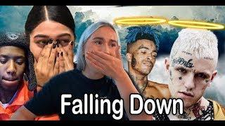 Lil Peep & XXXTENTACION  - Falling Down - REACTIONS  (EMOTIONAL)