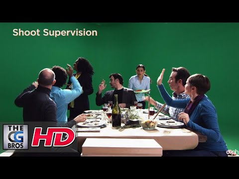 "CGI VFX Breakdowns : ""American Food 2"" - by UVPH"