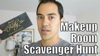Husband's Makeup Scavenger Hunt! -  Itsjudyslife Vlogs