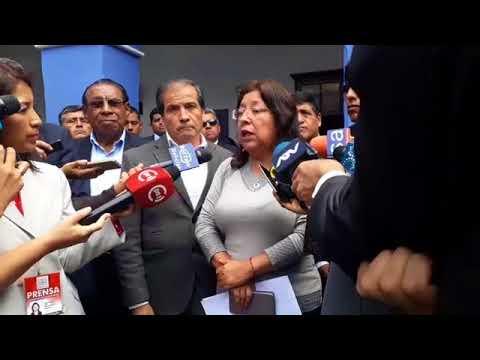 Congresista María Elena Foronda responde