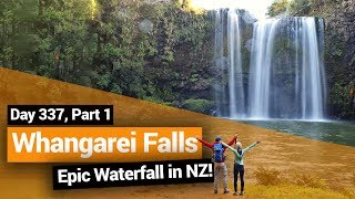 Video blog - Whangarei Falls in Northland - Day 337, Part 1