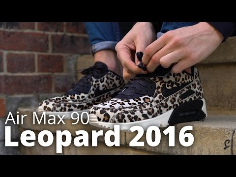 nike-air-max-leopard-2016-lx-on-foot-&-unboxing-review