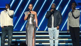 Download lagu Alicia Keys and Boyz II Men's Tribute to Kobe Bryant | GRAMMYs 2020